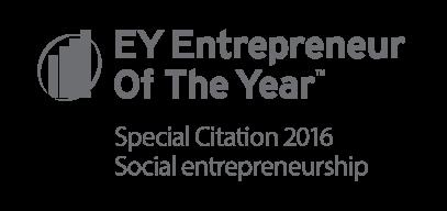 EY Enterpreneur Of The Year, Special Citation 2016 Social entrepreneurship